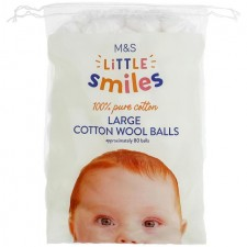 Marks and Spencer Large Cotton Wool Balls 80 per pack