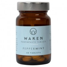 Waken Toothpaste Tablets Peppermint 60 per pack