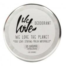 We Love The Planet Natural Deodorant Cream Sensitive 48g