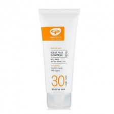 Green People Sun Lotion SPF 30 Scent Free Travel Size 100ml