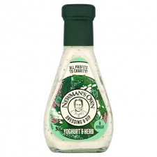 Newmans Own Yoghurt and Herb Dressing and Dip 250ml