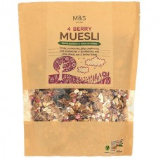 Marks and Spencer 4 Berry Muesli 600g
