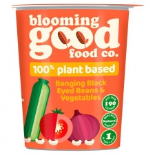 Blooming Good Food Co Black Eyed Bean and Vegetable Pot 55g