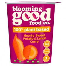 Blooming Good Food Co Sweet Potato and Lentil Pot 55g