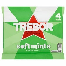 Trebor Softmints Peppermint 4 Pack