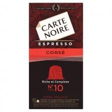 Carte Noire Espresso Corse Nespresso Compatible 10 Pods