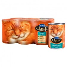 Butchers Classic Cat Food Fish in Jelly Pack 6 x 400g