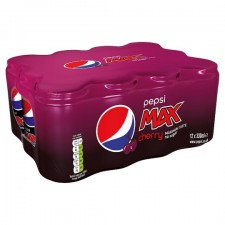 Pepsi Max Cherry 8 x 330ml Cans