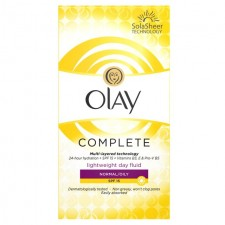 Olay Essentials Complete Care Moisturiser Day Fluid Normal/Oily SPF15 100ml