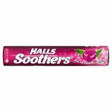 Retail Pack Halls Soothers Blackcurrant 20x45g