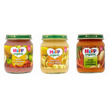 Hipp Organic Baby Food 4-6 Month 24 Jar Assortment Excluding Meat