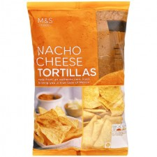 Marks and Spencer Nacho Cheese Tortilla Chips 200g