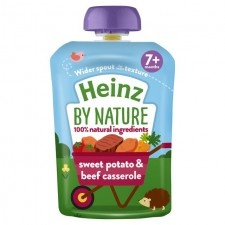 Heinz 7 Month Sweet Potato and Beef Casserole 130g pouch