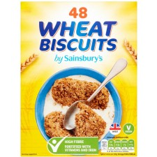 Sainsburys Wholewheat Cereal x48 Biscuits 860g