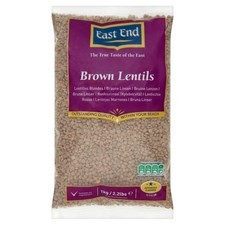 East End Brown Lentils 1kg