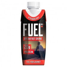 Fuel Liquid Breakfast Strawberry 330ml