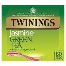 Twinings Green Tea and Jasmine 80 Teabags