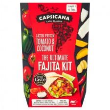 Capsicana Latin Fusion Fajita Kit 385g