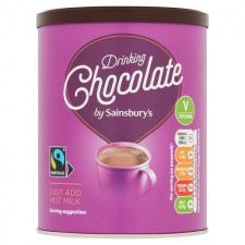 Sainsburys Fairtrade Drinking Chocolate 300g