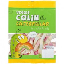 Marks and Spencer Veggie Colin the Caterpillar Fizzy Rainbows 150g