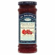 St Dalfour Raspberry and Pomegranate Fruit Spread 284g