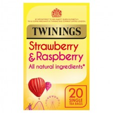 Twinings Strawberry and Raspberry Tea 20 Teabags