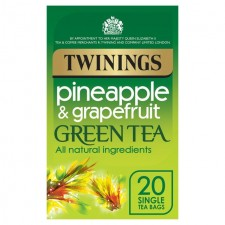 Twinings Green Tea with Pineapple and Grapefruit 20 Teabags