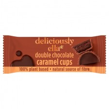 Deliciously Ella Double Chocolate Caramel Cups 36g
