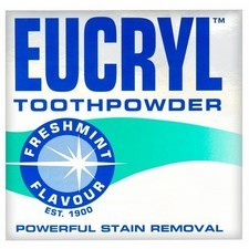 Eucryl Smokers Toothpowder Freshmint 50g