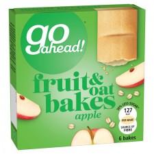 McVitie Go Ahead Apple Fruit Bakes 6 Pack