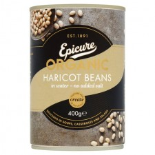 Epicure Organic Haricot Beans 400g