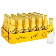 Schweppes Indian Tonic Water 24x200ml Bottles