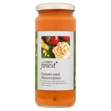 Tesco Finest Tomato and Mascarpone Pasta Sauce 340G