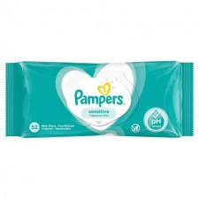 Pampers Sensitive Baby Wipes 52