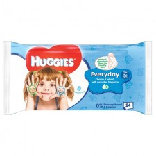 Huggies Baby Wipes Everyday On The Go 24 per pack