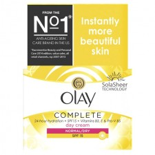 Olay Essentials Complete Care Moisturiser Daily UV Cream SPF 15 50ml