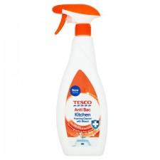 Tesco Antibacterial Kitchen Cleaner with Bleach Spray 750ml