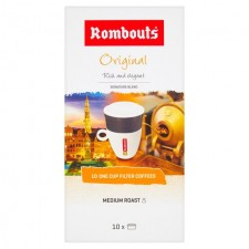 Rombouts Coffee Original 1 Cup Filters 10 Pack