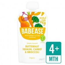 Babease Organic Butternut Squash Carrot and Broccoli 100g
