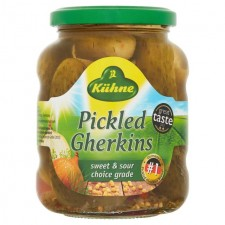 Kuhne Pickled Gherkins 330g