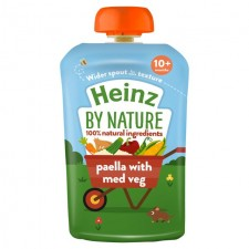 Heinz 10 Month Paella with Med Veg 180g