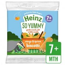 Heinz Mango and Apricot Biscotti 60g