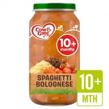 Cow And Gate 10 Months Spaghetti Bolognese Jar 250g