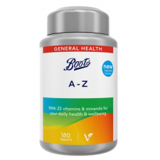 Boots A to Z Complete Vitamins and Minerals 180 Tablets