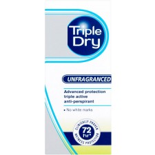 Triple Dry Roll On Unfragranced 50ml