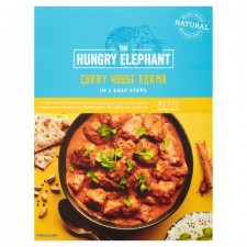 The Hungry Elephant Curry House Korma 320G