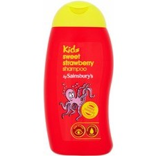 Sainsburys Kids 2 in 1 Shampoo Strawberry 250ml
