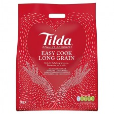Catering Size Tilda Easy Cook Long Grain Rice 5kg sack