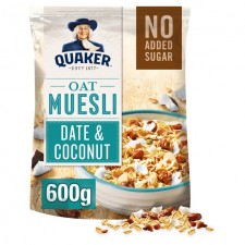 Quaker Oat Muesli with Date and Coconut 600g