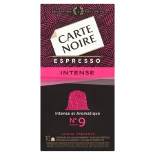 Carte Noire Espresso Intense Nespresso Compatible 10 Pods